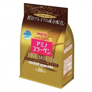MEIJI Amino Collagen Premium, Коллаген+гиалуроновая кислота+Q10, 214гр( на 30 дней)